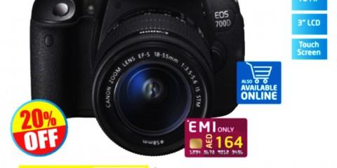 Canon SLR Camera EOS700D
