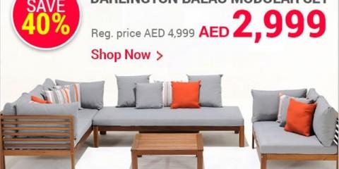 Darlington Balau Modular Set