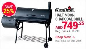Half Moon Charcoal Grill