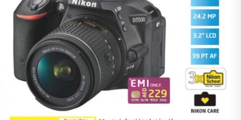Nikon SLR D5500