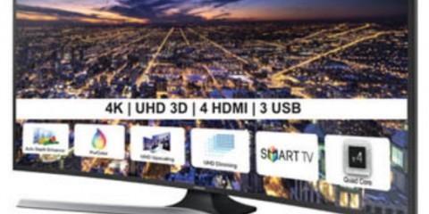 Samsung Curved Smart LED TV