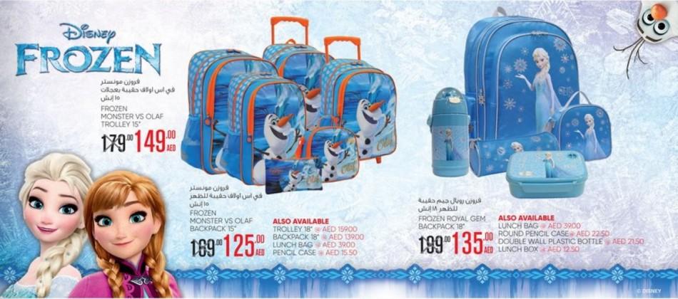 Disney Frozen School Bags