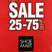 Shoe Mart Part Sale