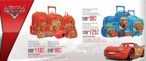 Disney Cars School Bags