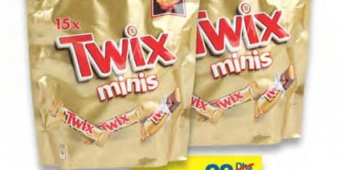 Twix minis chocolate 300g