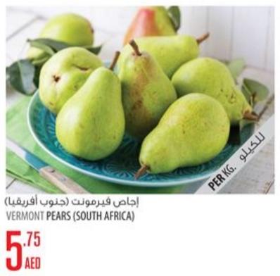 Vermont Pears