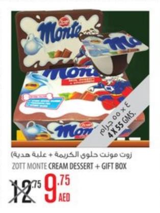 Zott Monte Cream Dessert