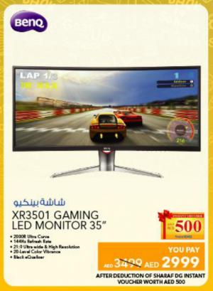 BenQ XR3501 Gaming Led monitor