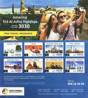 Amazing Eid Al Adha Holidays Tour