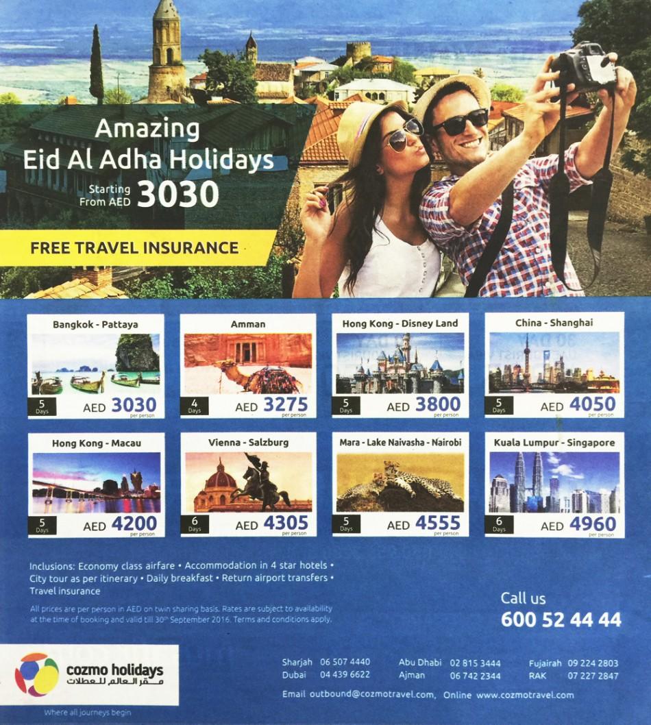 Amazing Eid Al Adha Holidays Tour
