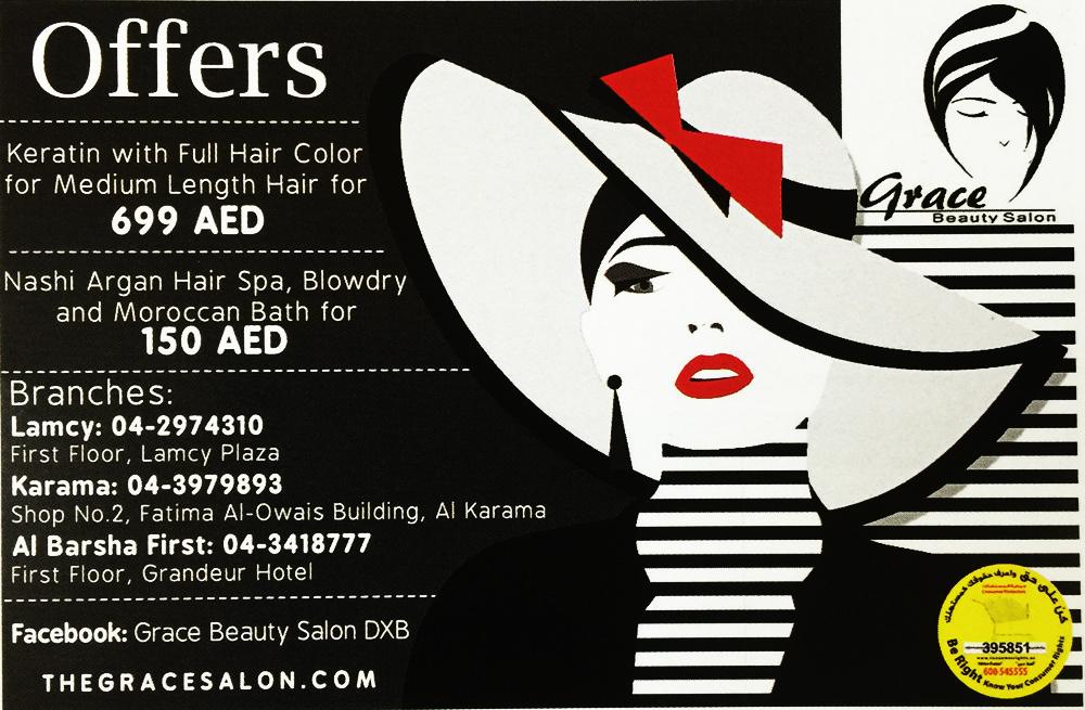Grace beauty salon special offers for Aaina beauty salon electronic city