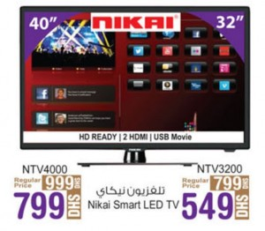Nikai Smart LED TV