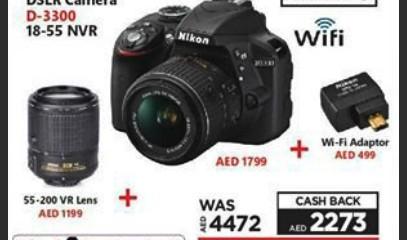 nikon - DSLR Camera D-3300