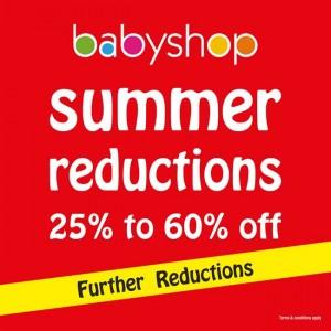Babyshop summer reductions