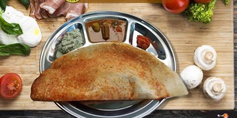 Breakfast & Snacks at Right Choice Restaurant Sharjah Dosa