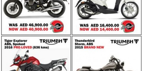 Duseja Moto's Fabulous Four Motorcycles Special Offer