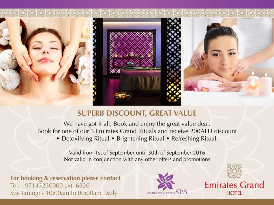 Emirates Grand Hotel Spa Deal