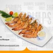 Fish Hut Unlimited Sea Food (Grilled Shrimps) on Sundays