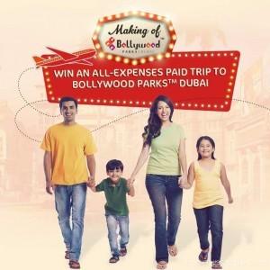 Free Trip to Bollywood Parks Dubai