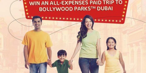 Free Trip to Bollywood Parks Dubai