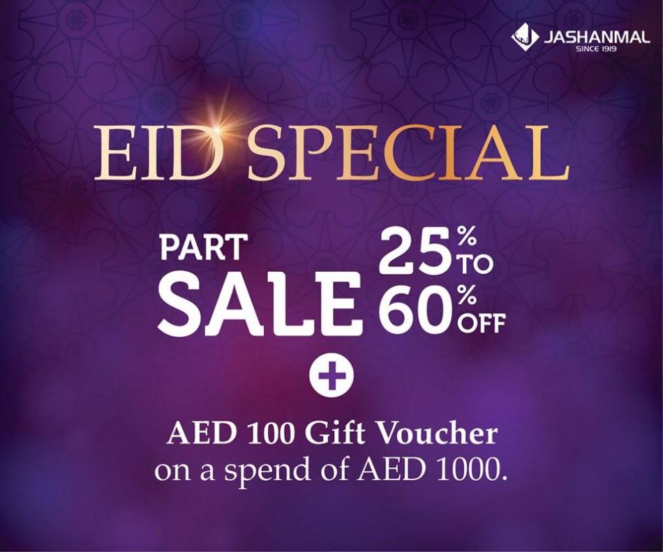 Jashanmal Eid Exclusive Offer