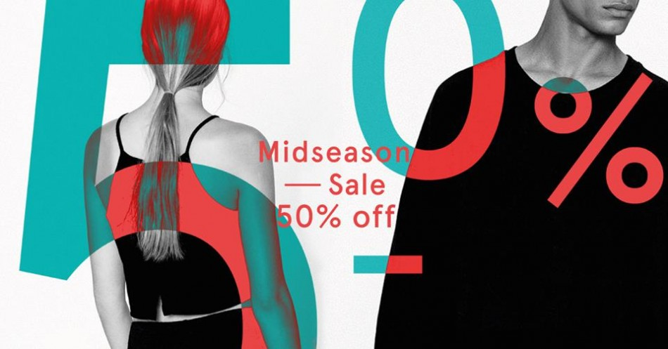 50% OFF Mid Season Sale