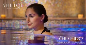 Shiseido Palm Bliss Package at AED 500