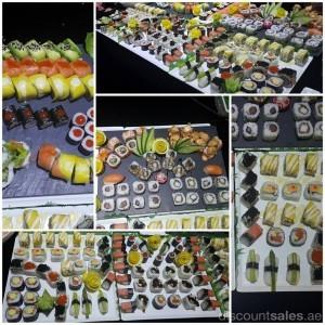 Sneak Peak from tonight's Sushi Buffet tasteoffame