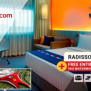 Stay at Park Inn Yas Island and Free access to Ferrari World Diwali offer from Travel Wings