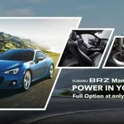 Subaru BRZ Manual Transmission Discount Sales UAE