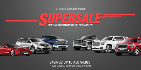 Supersale Savings on GMC and Chevrolet