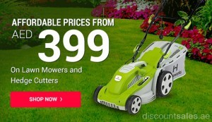 Lawn Mowers & Hedge Cutter