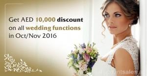 Ajman Palace Hotel Weddings Discount Offer