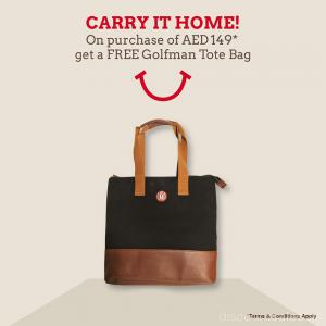 FREE Golfman Tote Bag