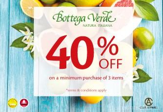 Bottega Verde Special Offer