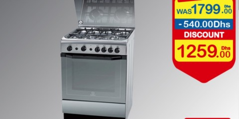 Indesit Cooker 30% OFF