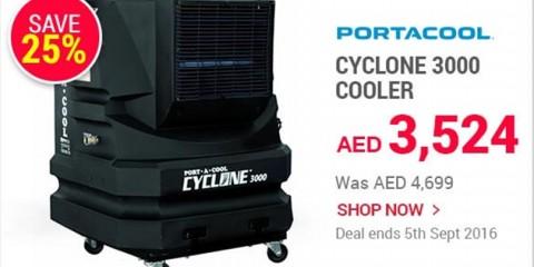 Cyclone 3000 Cooler