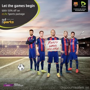 eLife Sports Package Promo by Etisalat