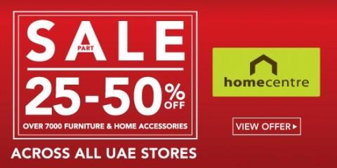 Home Centre Part Sale