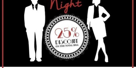 HOTELIERS NIGHT 25% Discounts PROMO