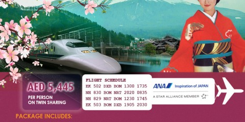 Japan Extendable Tour Package Offer