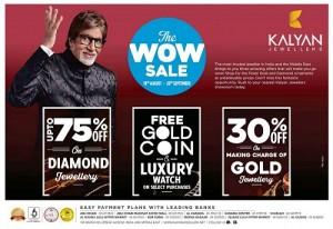 Kalyan Jewellers Wow Sale