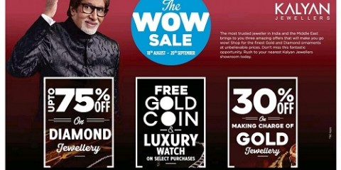 Kalyan Jewellers Wow Sale