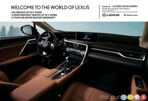 2016 Lexus Models