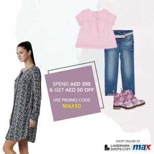 Max Fashion Shop Online Promo