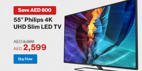 Philips 4K UHD Slim LED TV