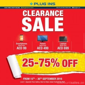 PLUG INS Clearance SALE