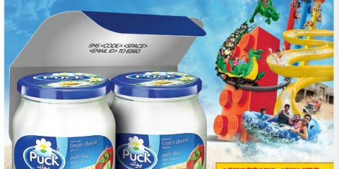 PUCK CREAM CHEESE PROMO