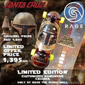 Santa Cruz Limited Edition Customized Cruiser