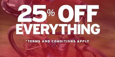 EVERYTHING 25% OFF